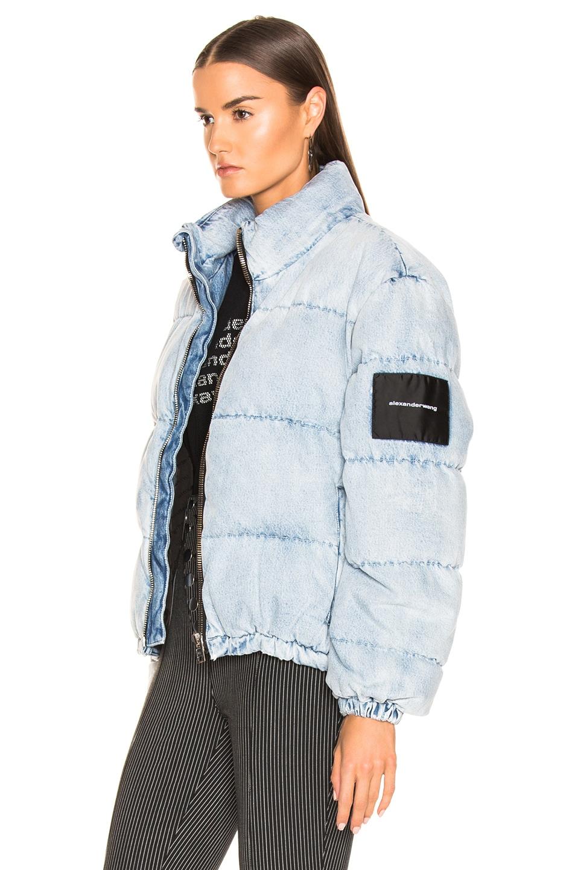 Image 4 of Alexander Wang Puffer Jacket in Bleach