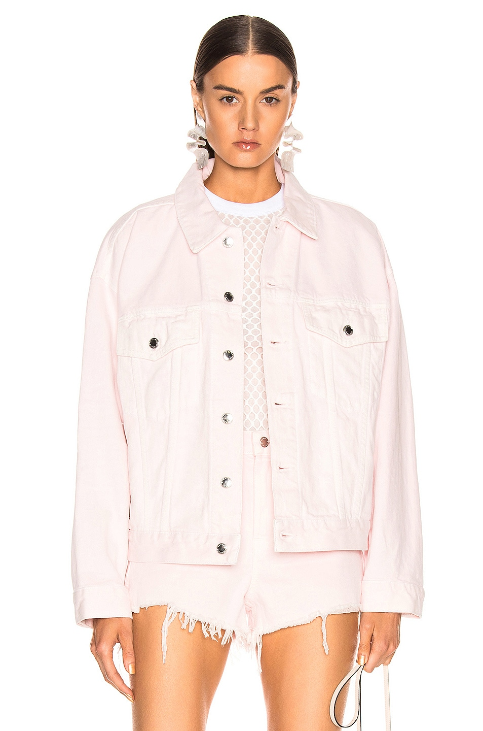 Image 1 of Alexander Wang Game Jacket in Pink