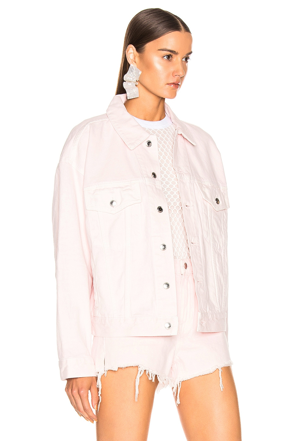 Image 2 of Alexander Wang Game Jacket in Pink