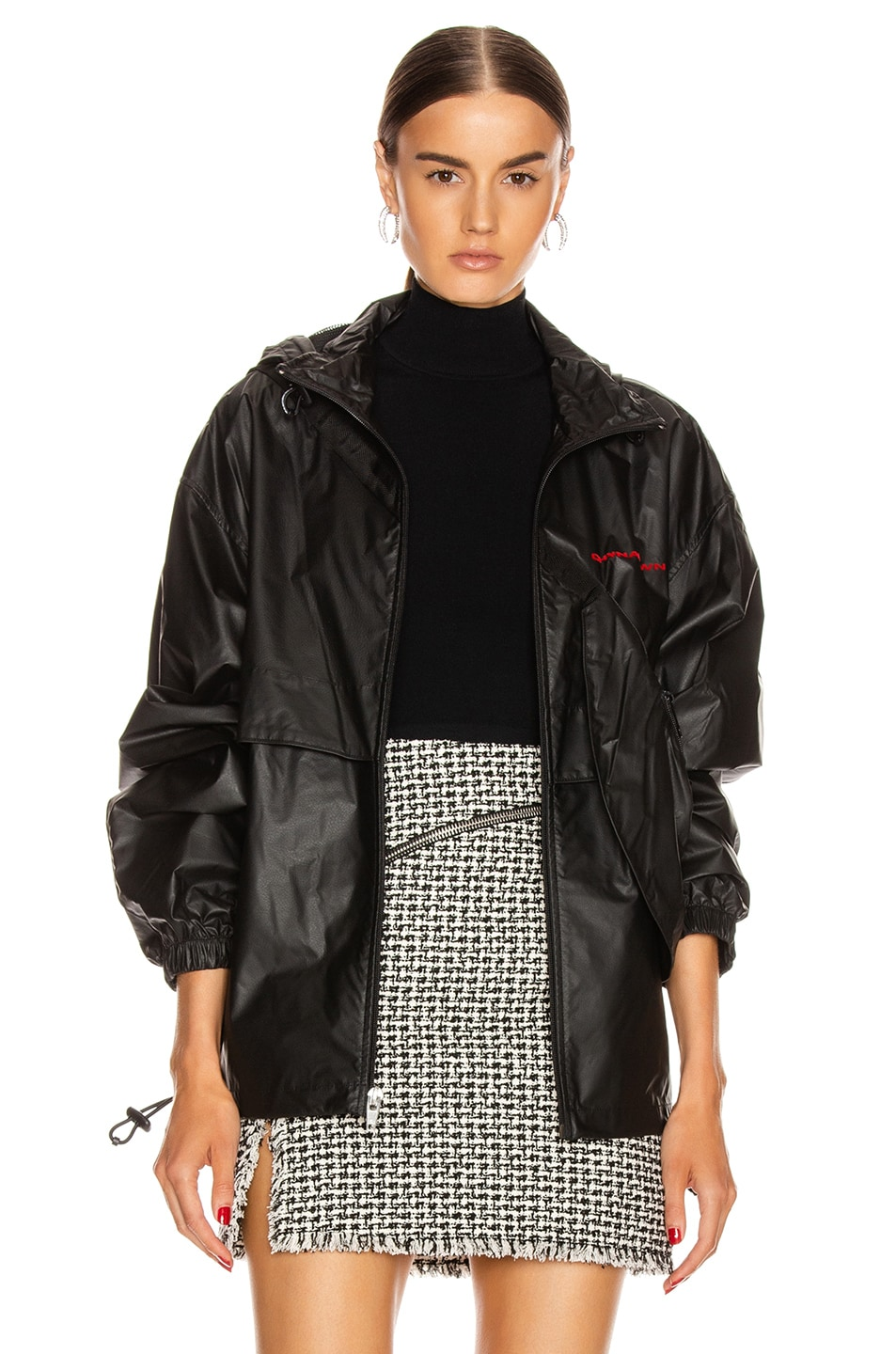 Image 2 of Alexander Wang Chynatown Track Jacket in Black