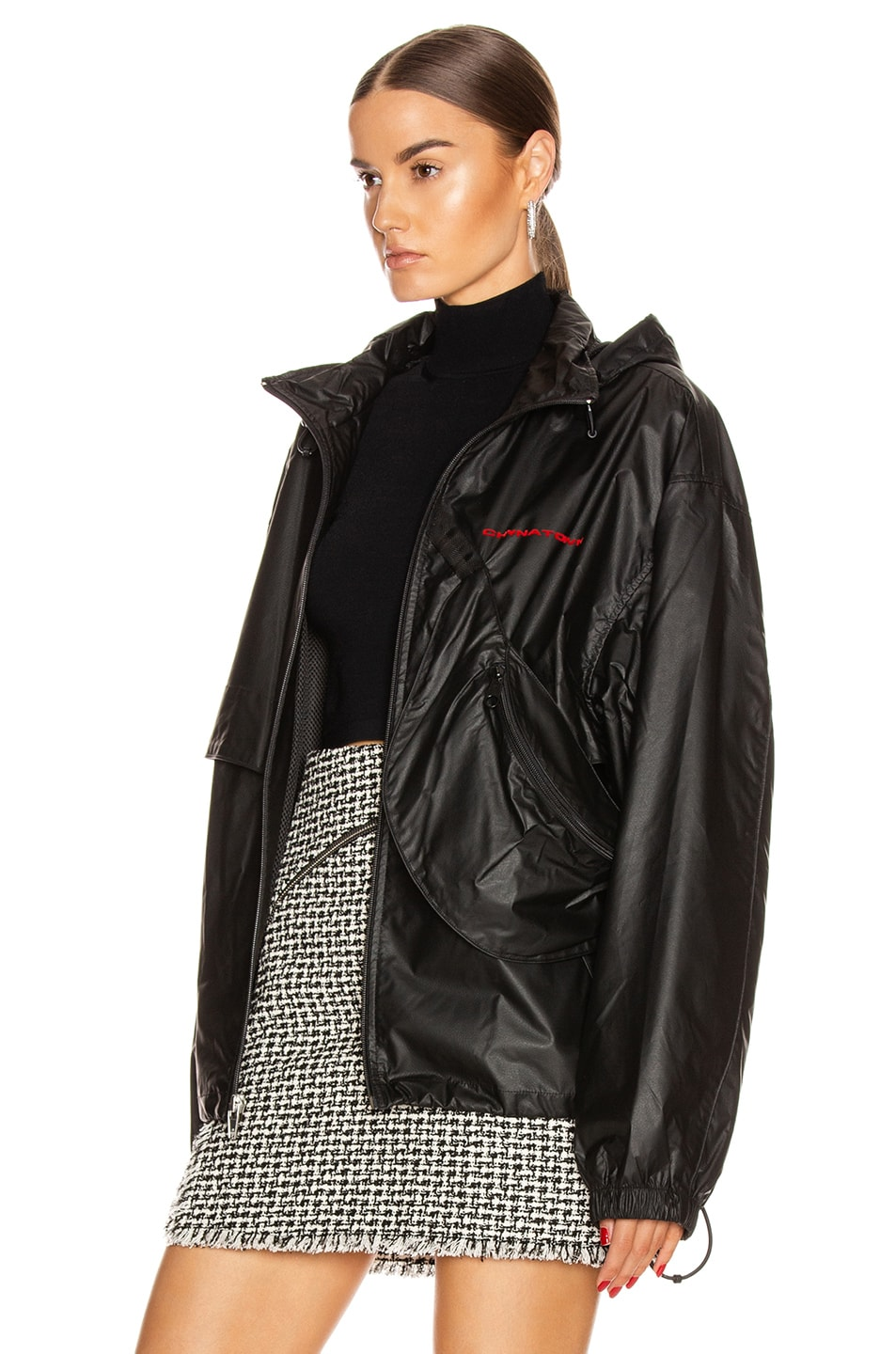 Image 5 of Alexander Wang Chynatown Track Jacket in Black