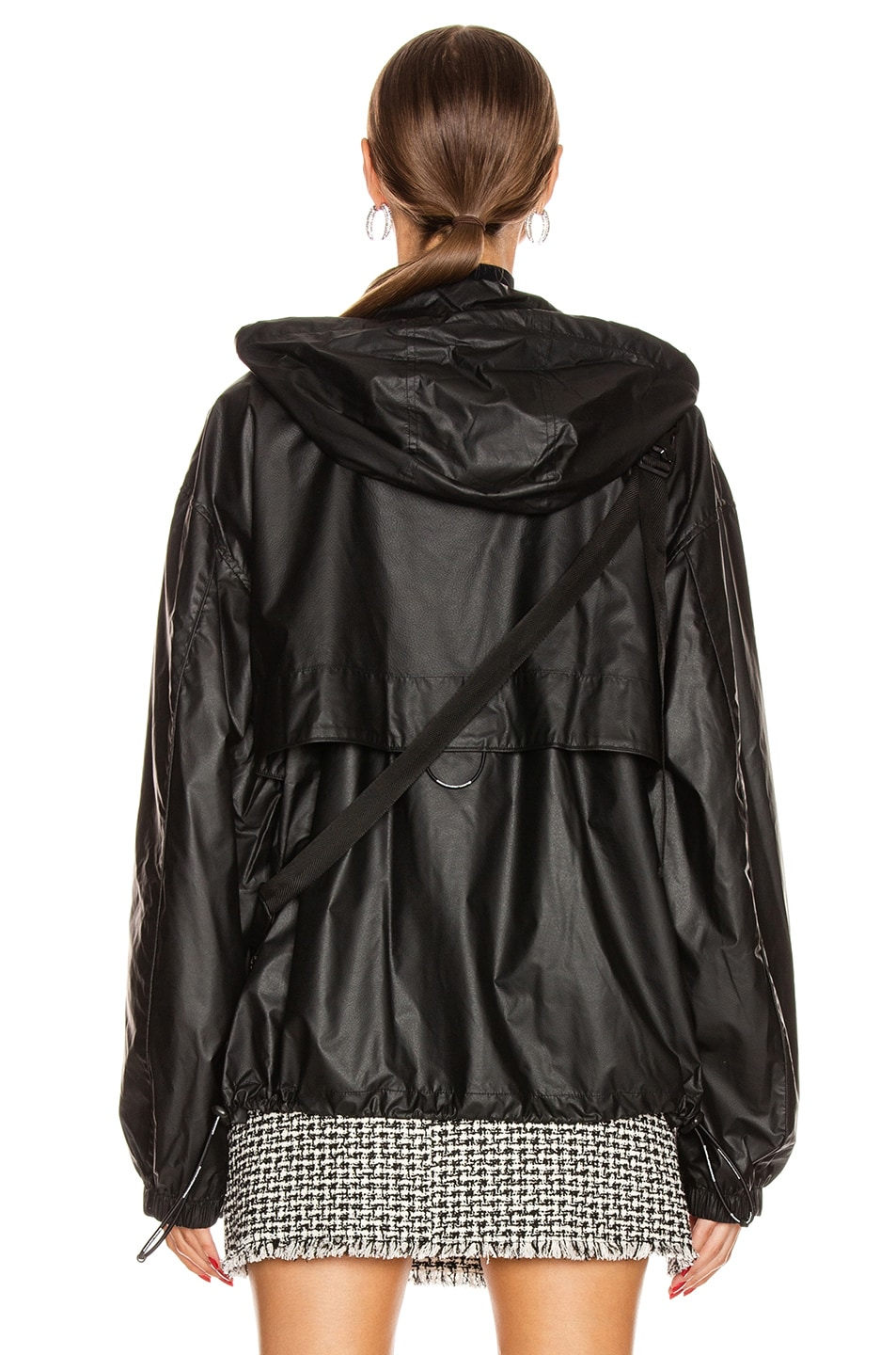Image 6 of Alexander Wang Chynatown Track Jacket in Black