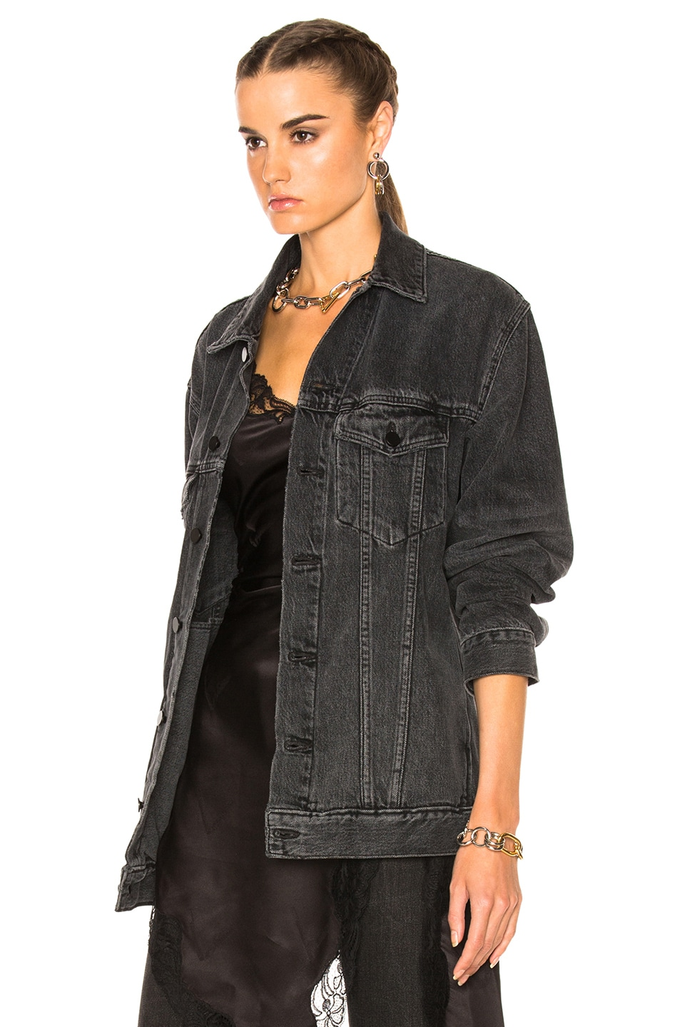 Image 2 of Alexander Wang Daze Jacket in Gray Aged
