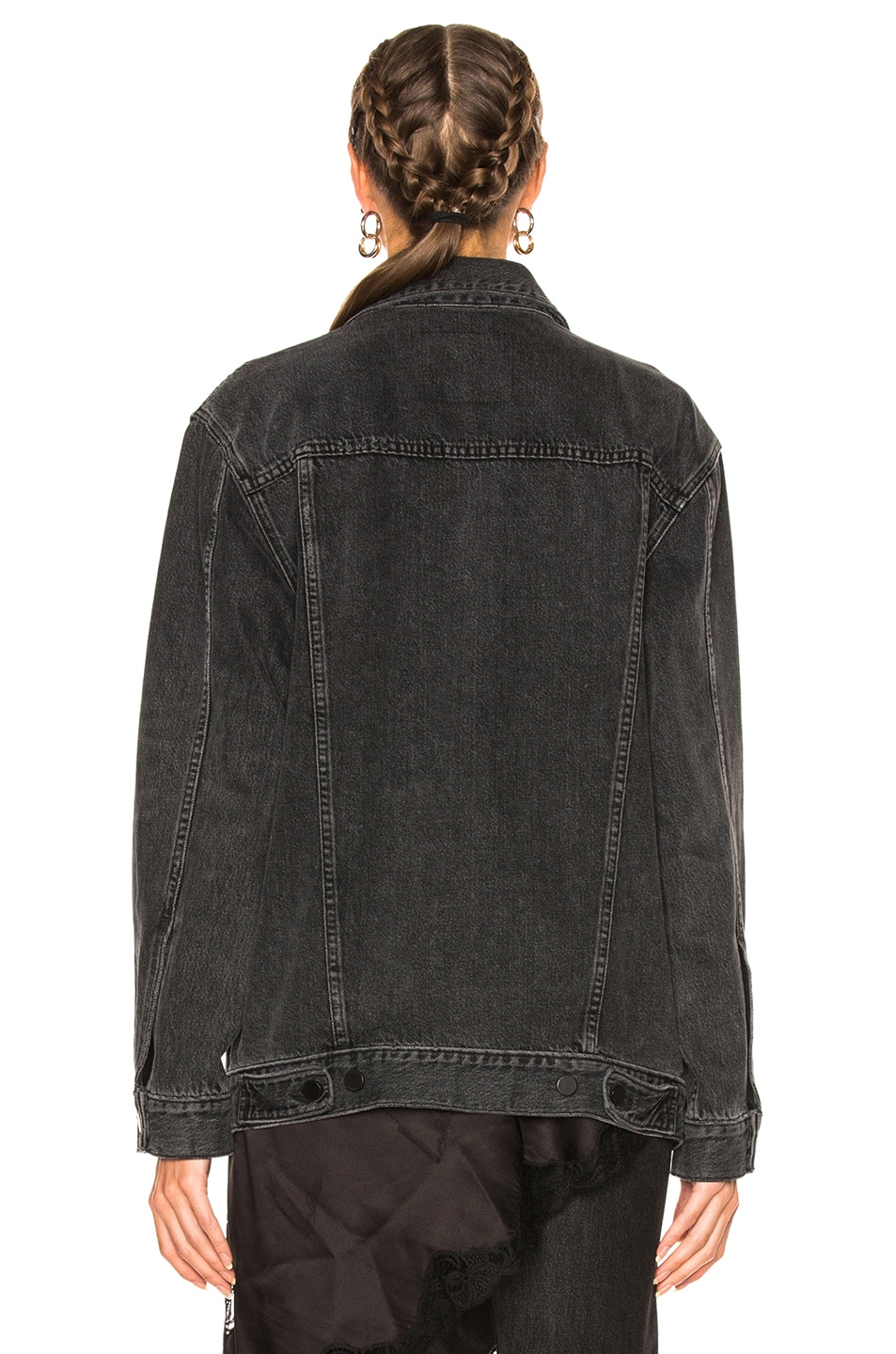 Image 4 of Alexander Wang Daze Jacket in Gray Aged
