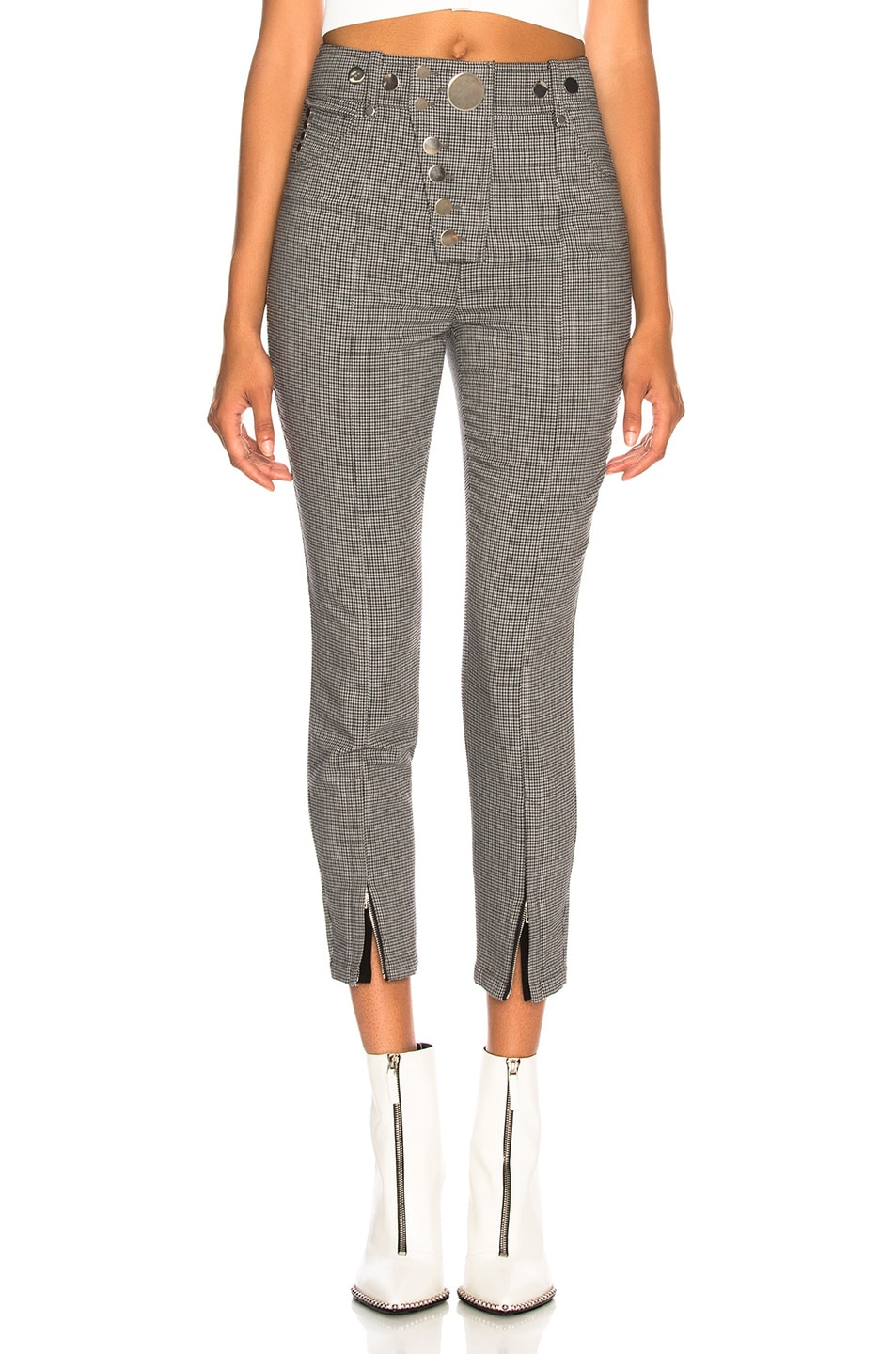 a673977e469c6a Image 1 of Alexander Wang High Waisted Legging in Grey Multi