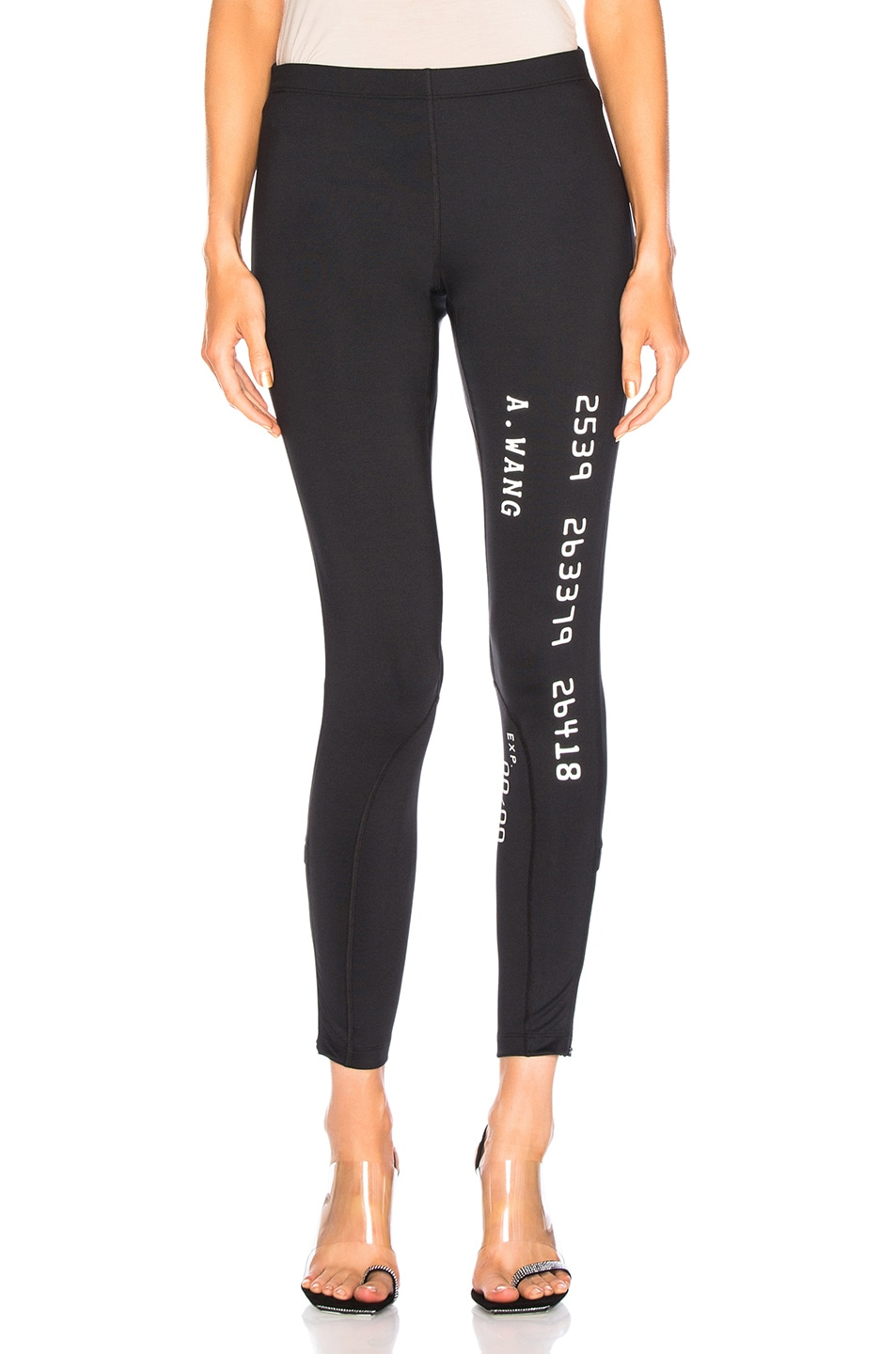Image 1 of Alexander Wang Scuba Legging in Black