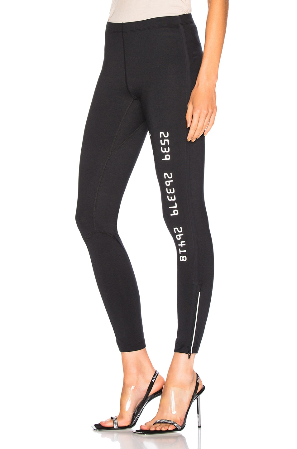 Image 3 of Alexander Wang Scuba Legging in Black