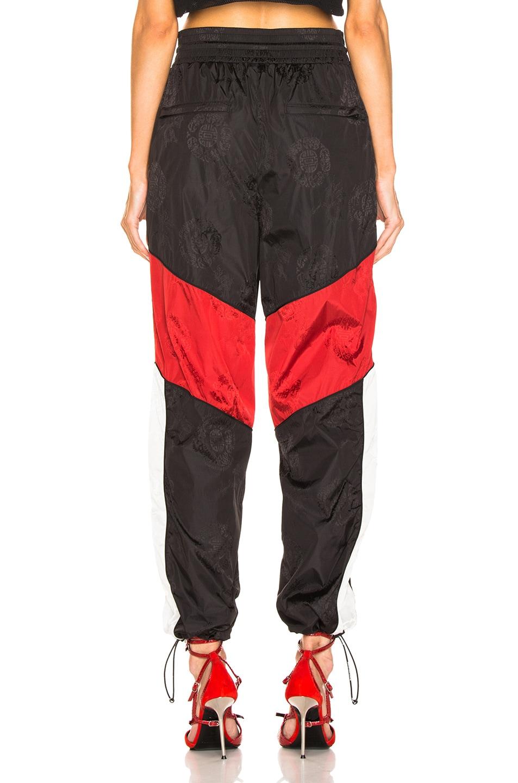 Image 3 of Alexander Wang Windbreaker Track Pant in Black, White & Red