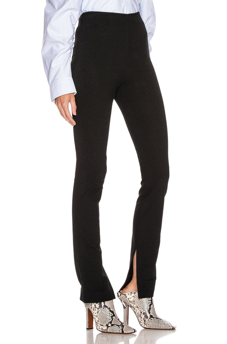 Image 2 of Alexander Wang Elastic Crepe Pant in Black