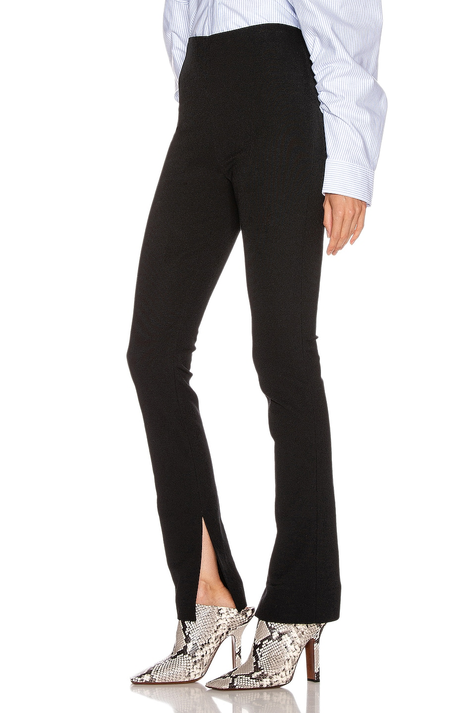 Image 3 of Alexander Wang Elastic Crepe Pant in Black