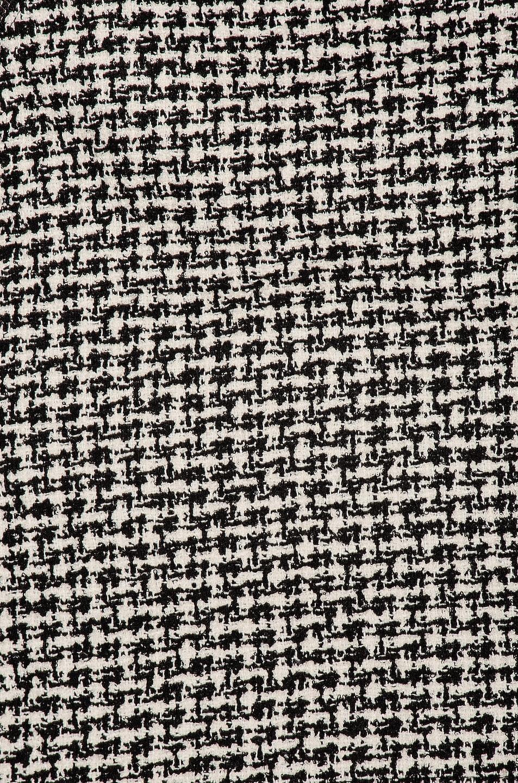Image 6 of Alexander Wang Tweed Zipper Mini Skirt in Black & White