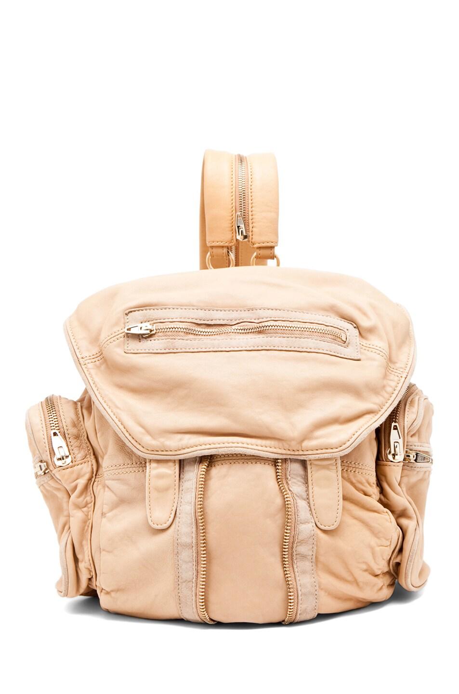 Image 1 of Alexander Wang Marti Backpack in Toffee