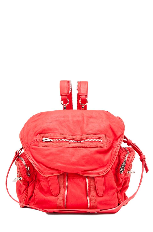 Image 1 of Alexander Wang Marti Backpack in Persimmon