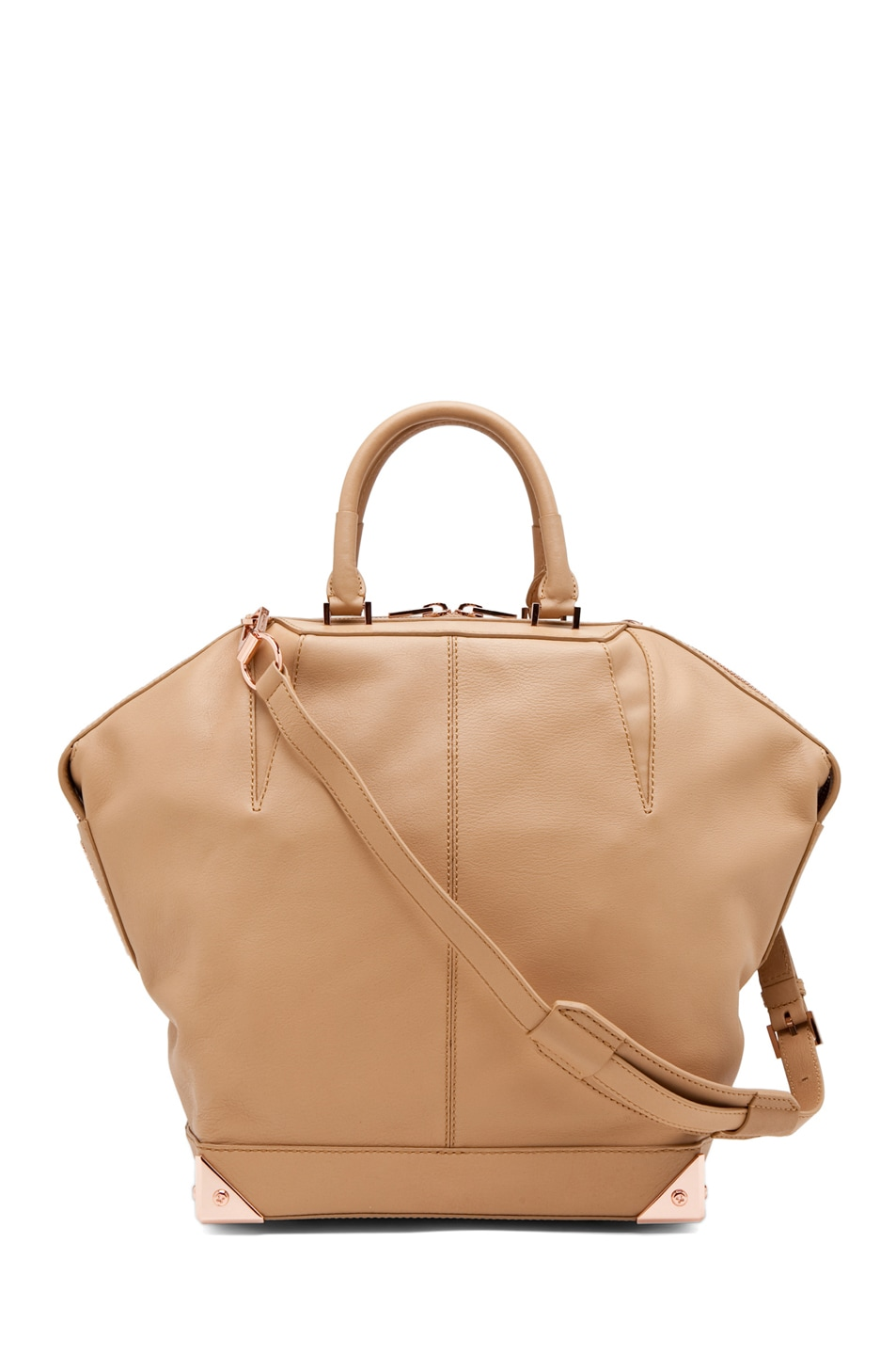 Image 1 of Alexander Wang Emile Large Tote in Toffee