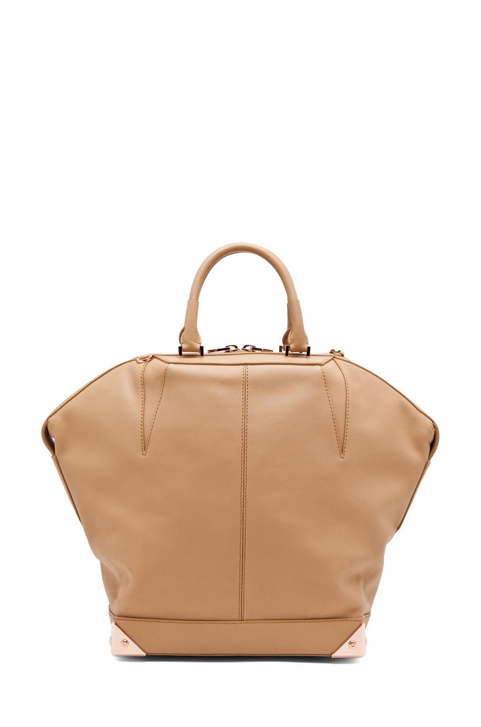 Image 2 of Alexander Wang Emile Large Tote in Toffee
