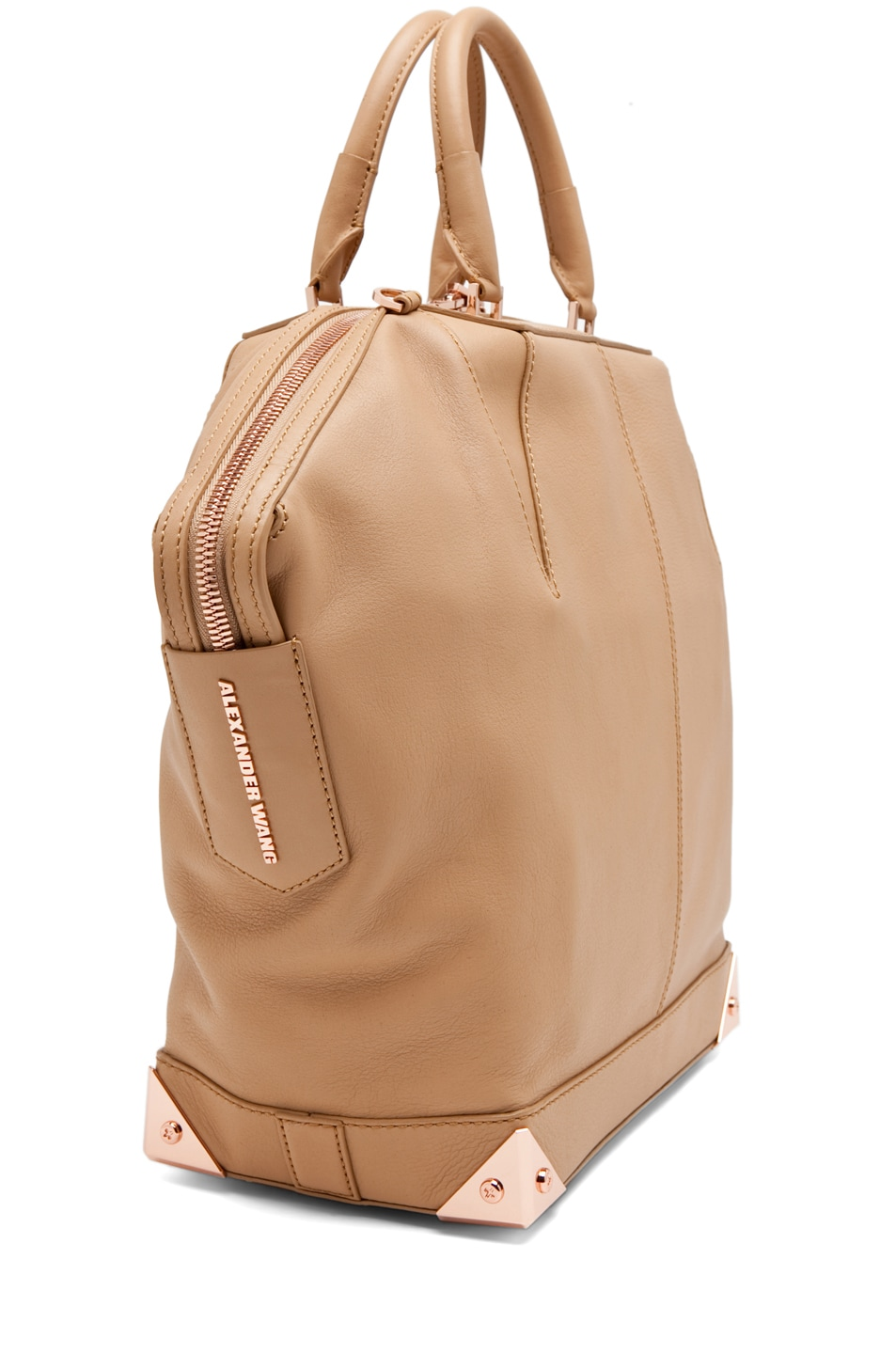 Image 3 of Alexander Wang Emile Large Tote in Toffee