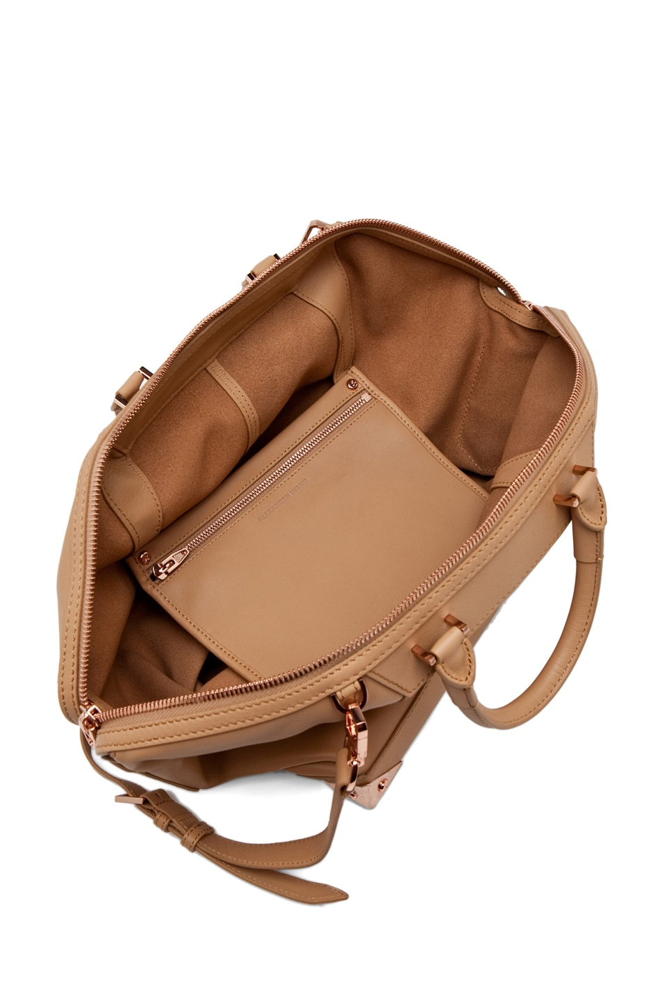 Image 4 of Alexander Wang Emile Large Tote in Toffee