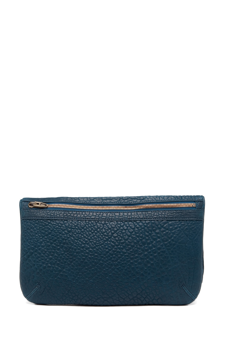 Image 2 of Alexander Wang Dumbo Soft Clutch in Petrol