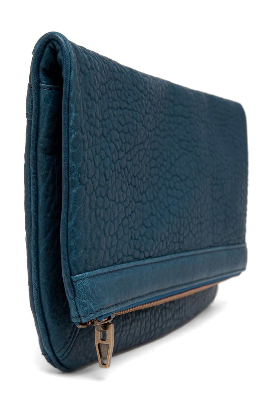 Image 3 of Alexander Wang Dumbo Soft Clutch in Petrol