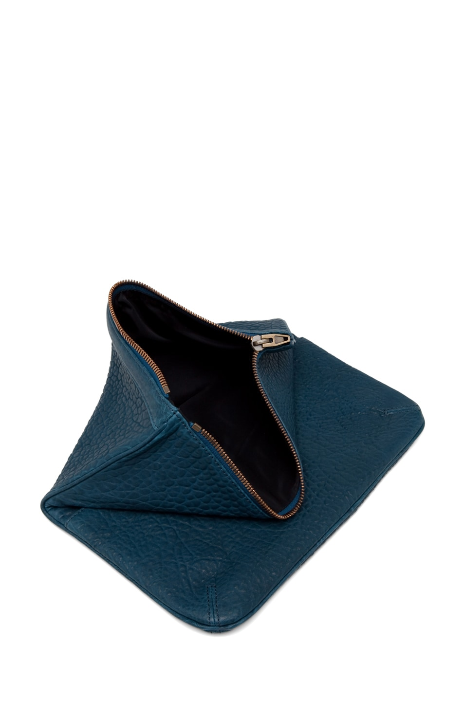 Image 5 of Alexander Wang Dumbo Soft Clutch in Petrol