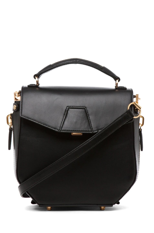 Image 1 of Alexander Wang Devere Structured Shoulder Bag in Black