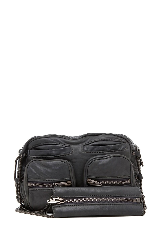 Image 1 of Alexander Wang Brenda Chain Shoulder Bag in Titanium