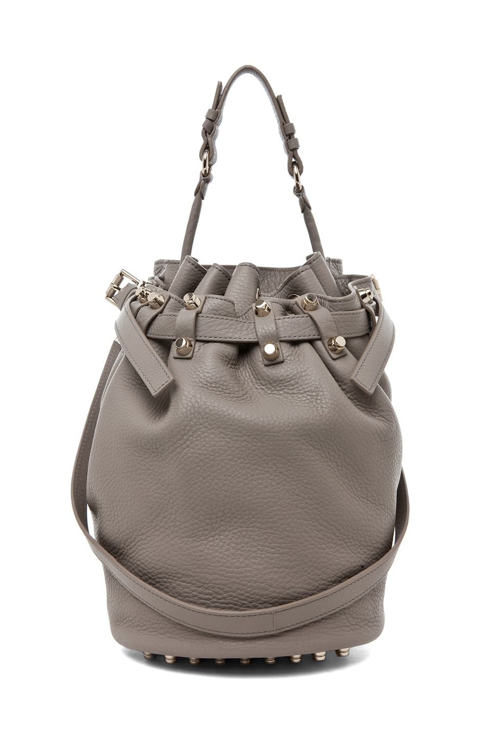 Image 1 of Alexander Wang Diego Bucket Bag in Oyster