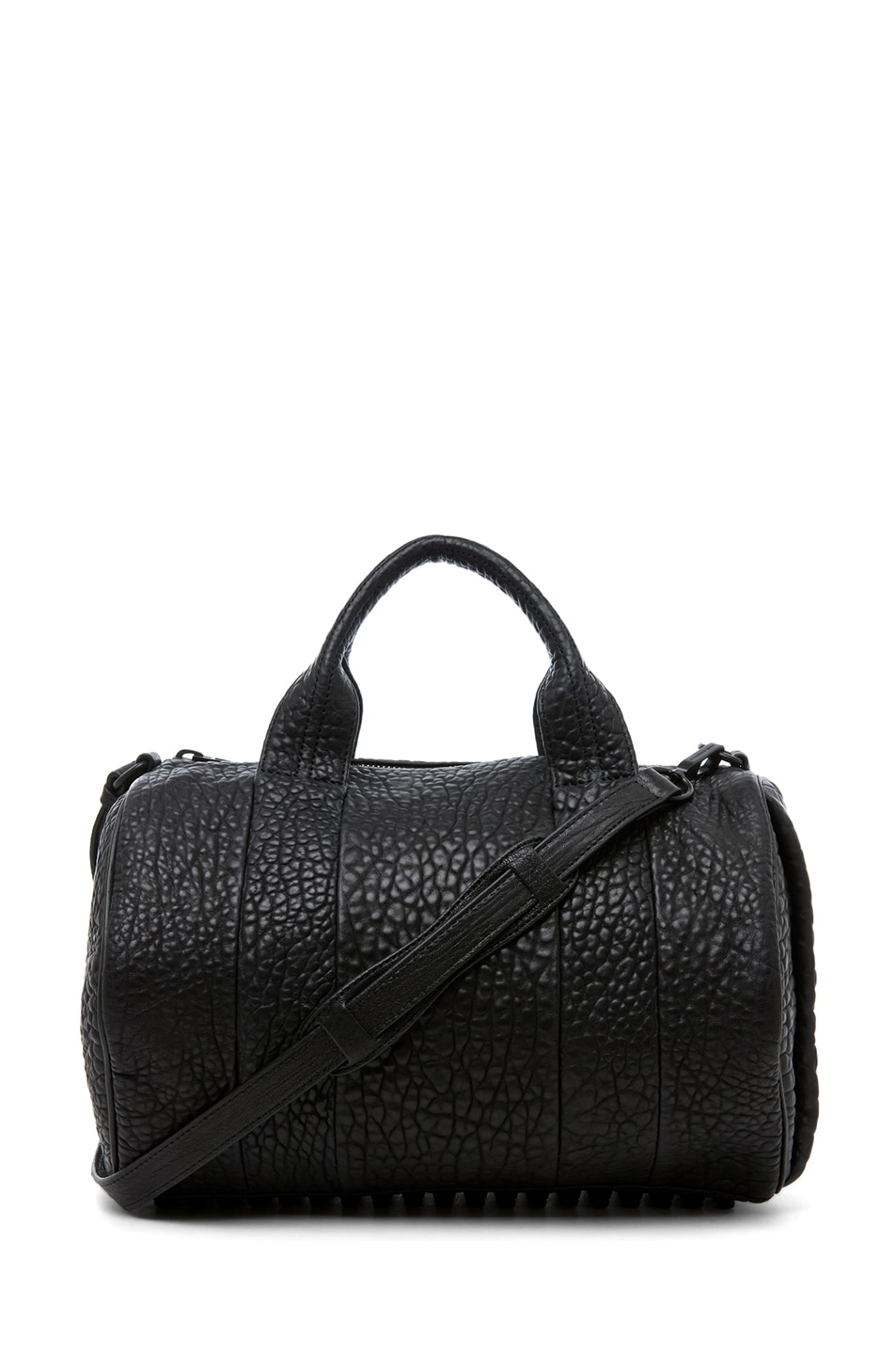 Image 1 of Alexander Wang Rocco Satchel in Matte Black