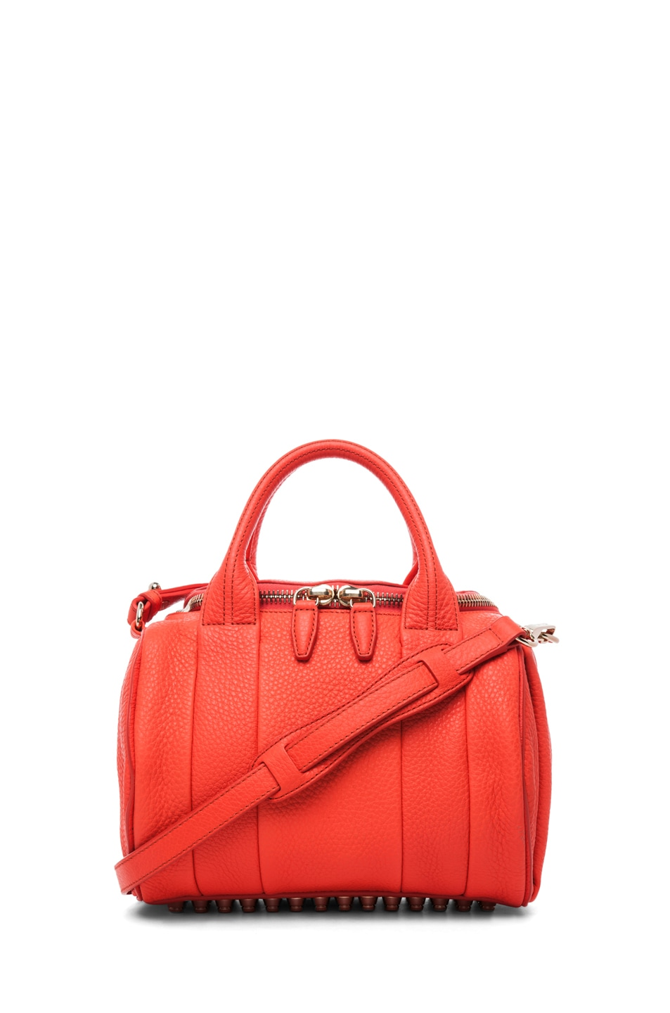 Image 1 of Alexander Wang Rockie Soft Pebble Leather Shoulder Bag in Tang