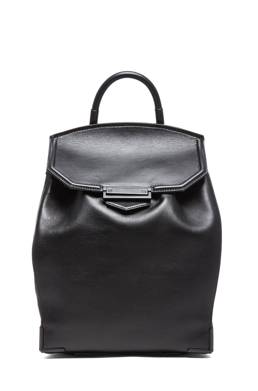 Image 1 of Alexander Wang Prisma Skeletal Backpack in Black