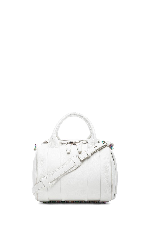 Image 1 of Alexander Wang Rockie Iridescent Handbag in Peroxide
