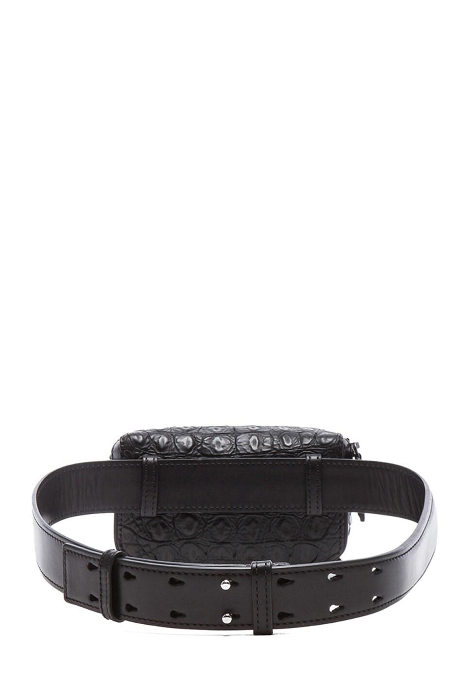 Image 2 of Alexander Wang Mini Runway Fanny Pack in Black
