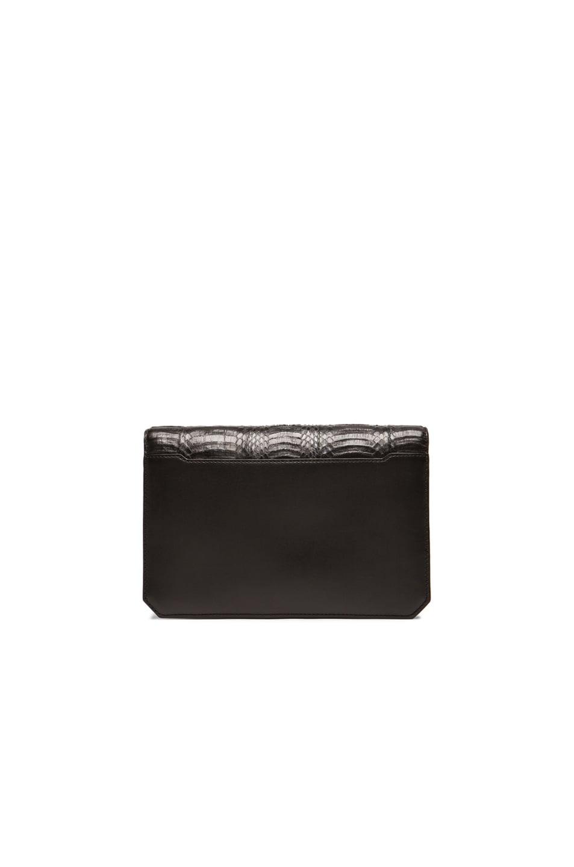 Image 3 of Alexander Wang Prisma Envelope Clutch in Black