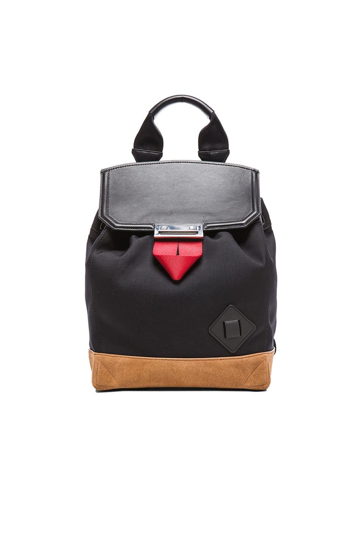 Image 1 of Alexander Wang Prisma Backpack in Black