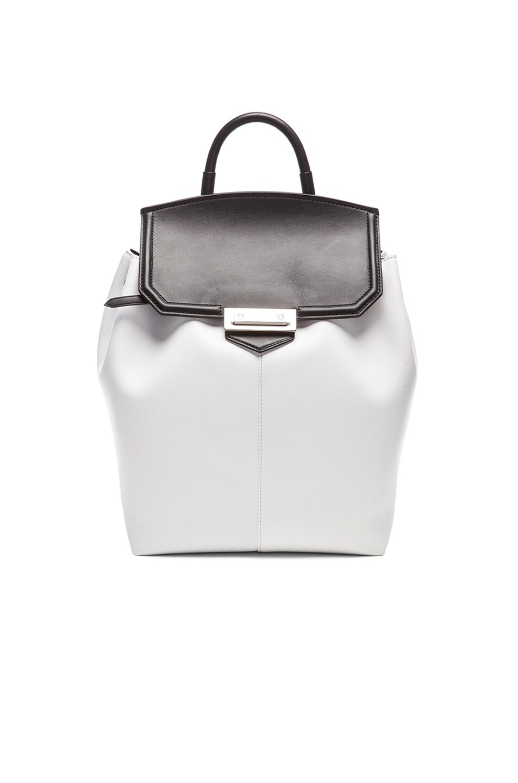 Image 1 of Alexander Wang Prisma Backpack in Black & White