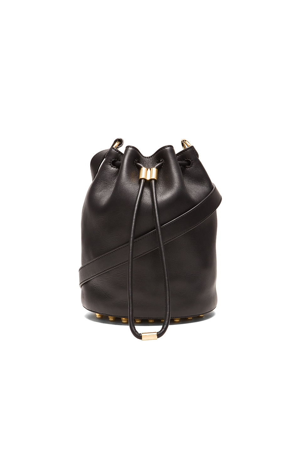 Image 1 of Alexander Wang Alpha Bucket Bag in Black