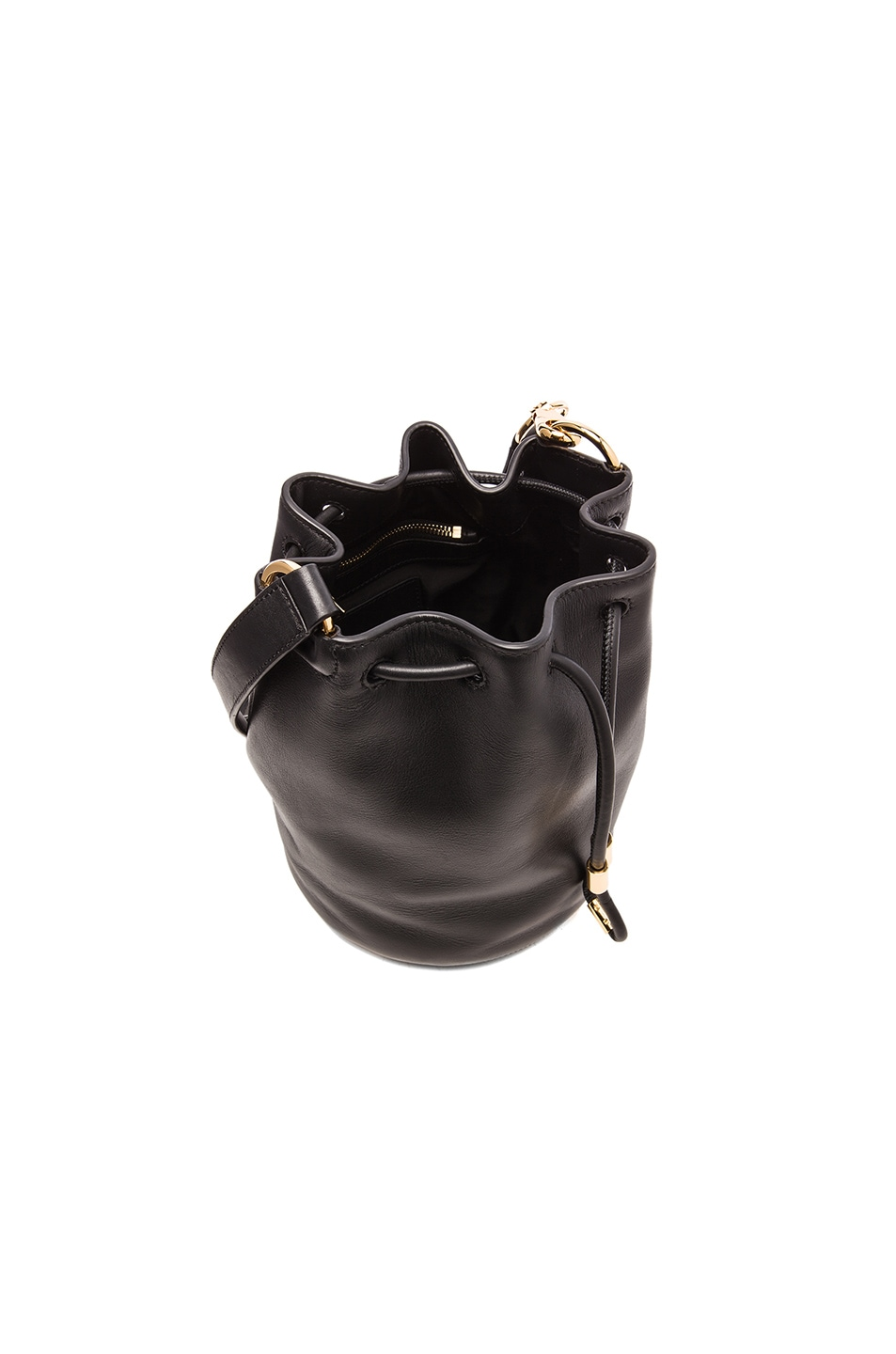 Image 4 of Alexander Wang Alpha Bucket Bag in Black