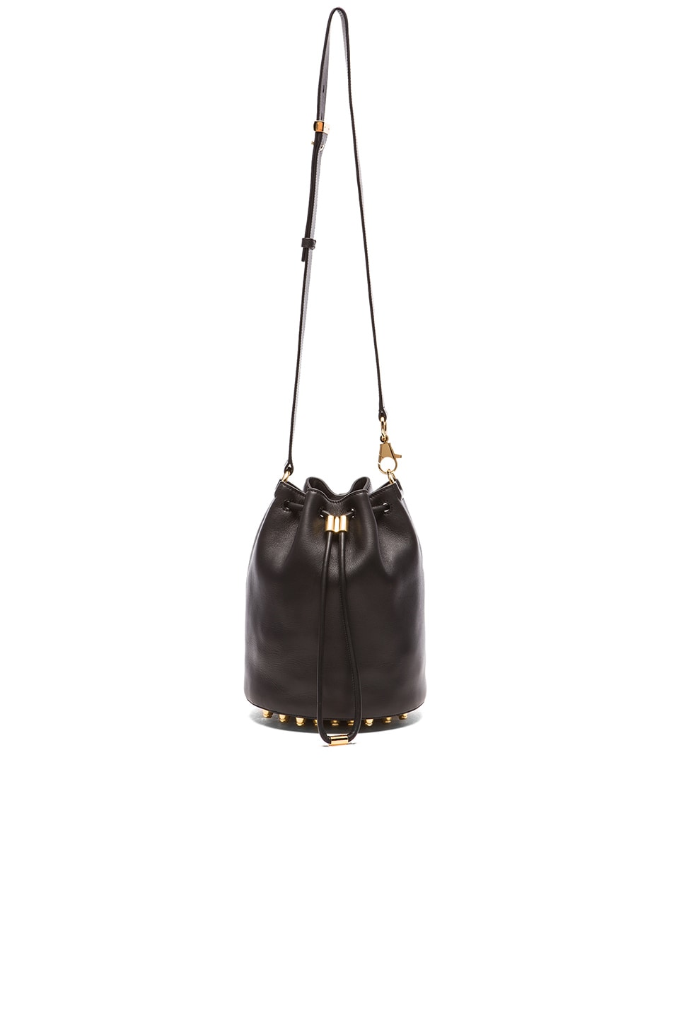 Image 5 of Alexander Wang Alpha Bucket Bag in Black