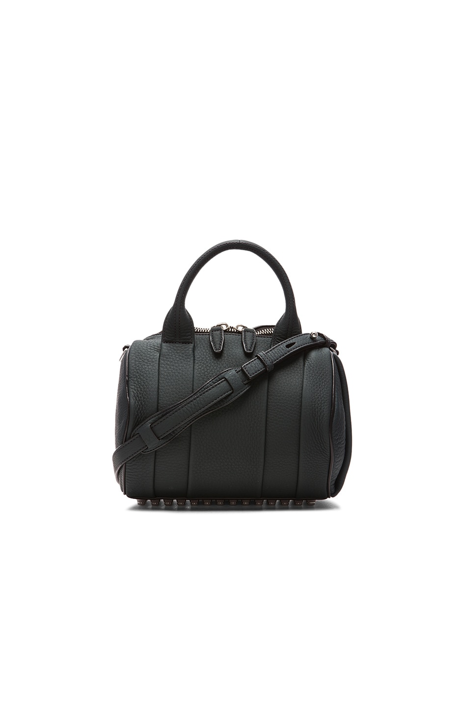 Image 1 of Alexander Wang Rockie Satchel with Silver Hardware in Varsity