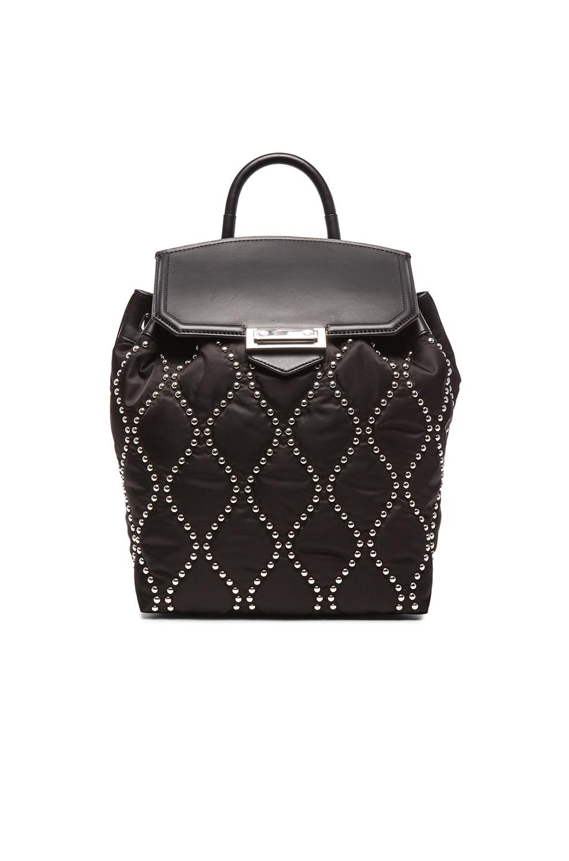 Image 1 of Alexander Wang Studded Prisma Backpack in Black