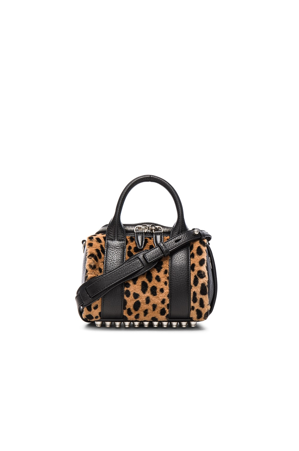 Image 1 of Alexander Wang Mini Rockie Bag in Cheetah