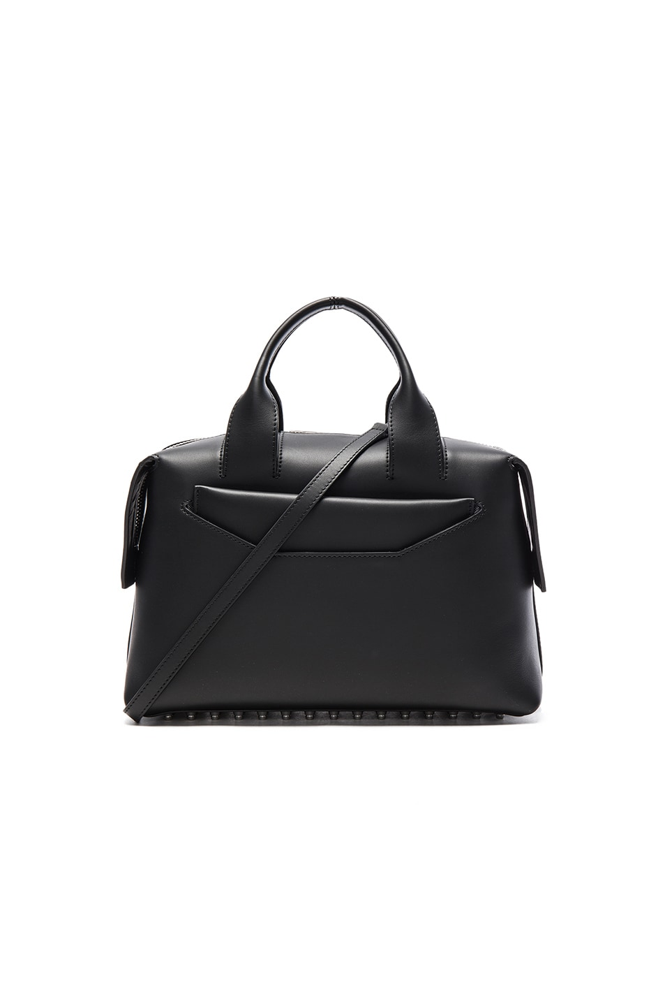 Image 1 of Alexander Wang Rogue Satchel in Black