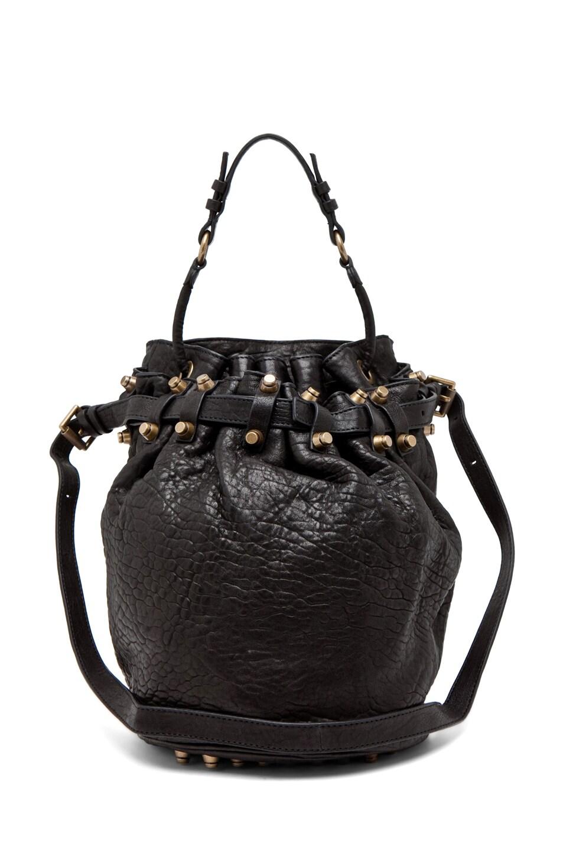 Image 1 of Alexander Wang Diego Bucket Bag in Black