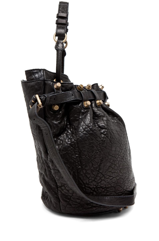 Image 3 of Alexander Wang Diego Bucket Bag in Black