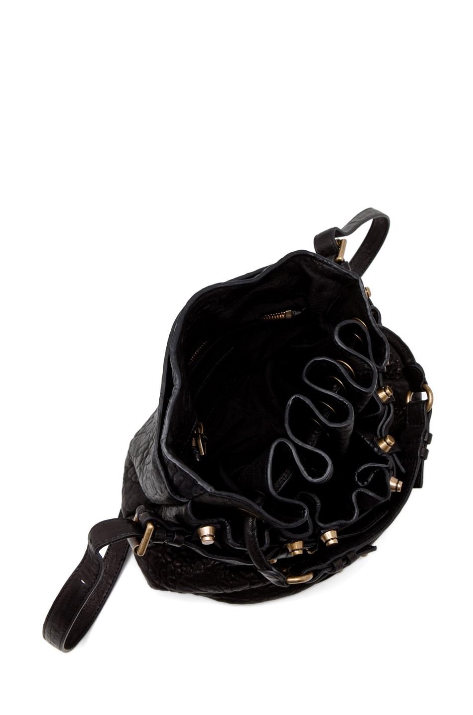Image 4 of Alexander Wang Diego Bucket Bag in Black