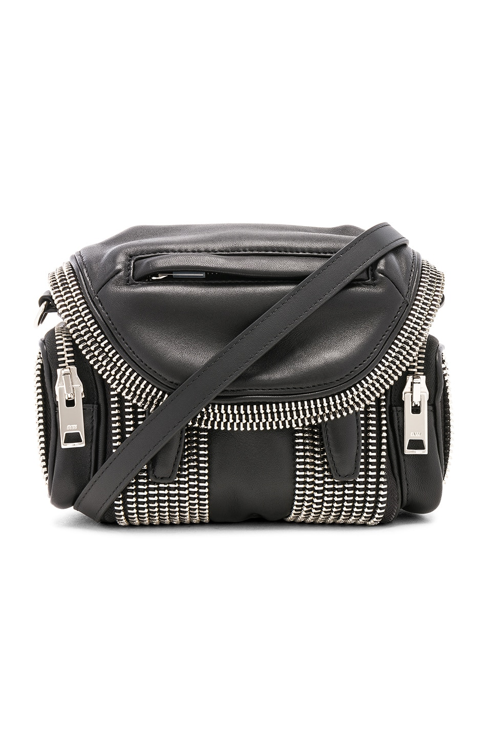 Image 1 of Alexander Wang Micro Marti Bag in Black