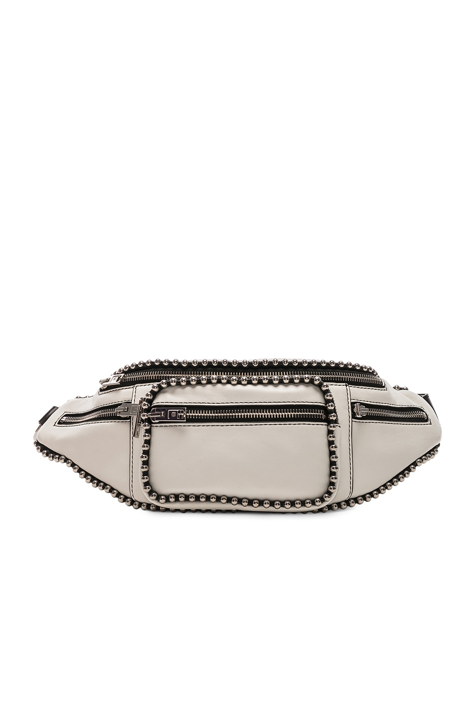 Image 1 of Alexander Wang Attica Ball Chain Fanny Pack in White