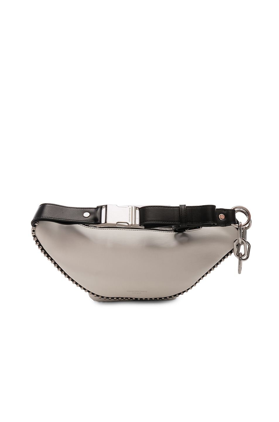 Image 3 of Alexander Wang Attica Ball Chain Fanny Pack in White