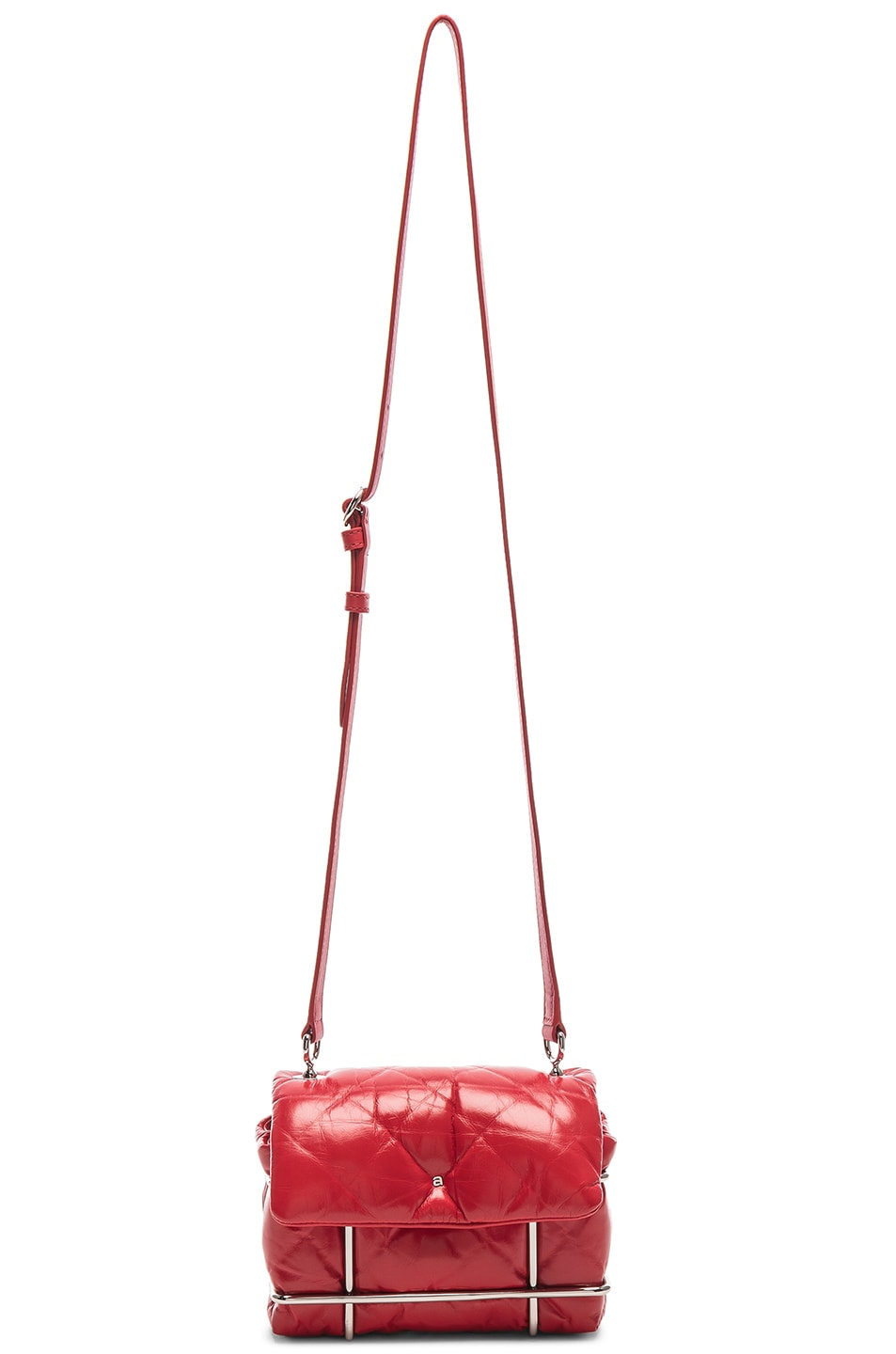 Image 6 of Alexander Wang Halo Quilted Bag in Red