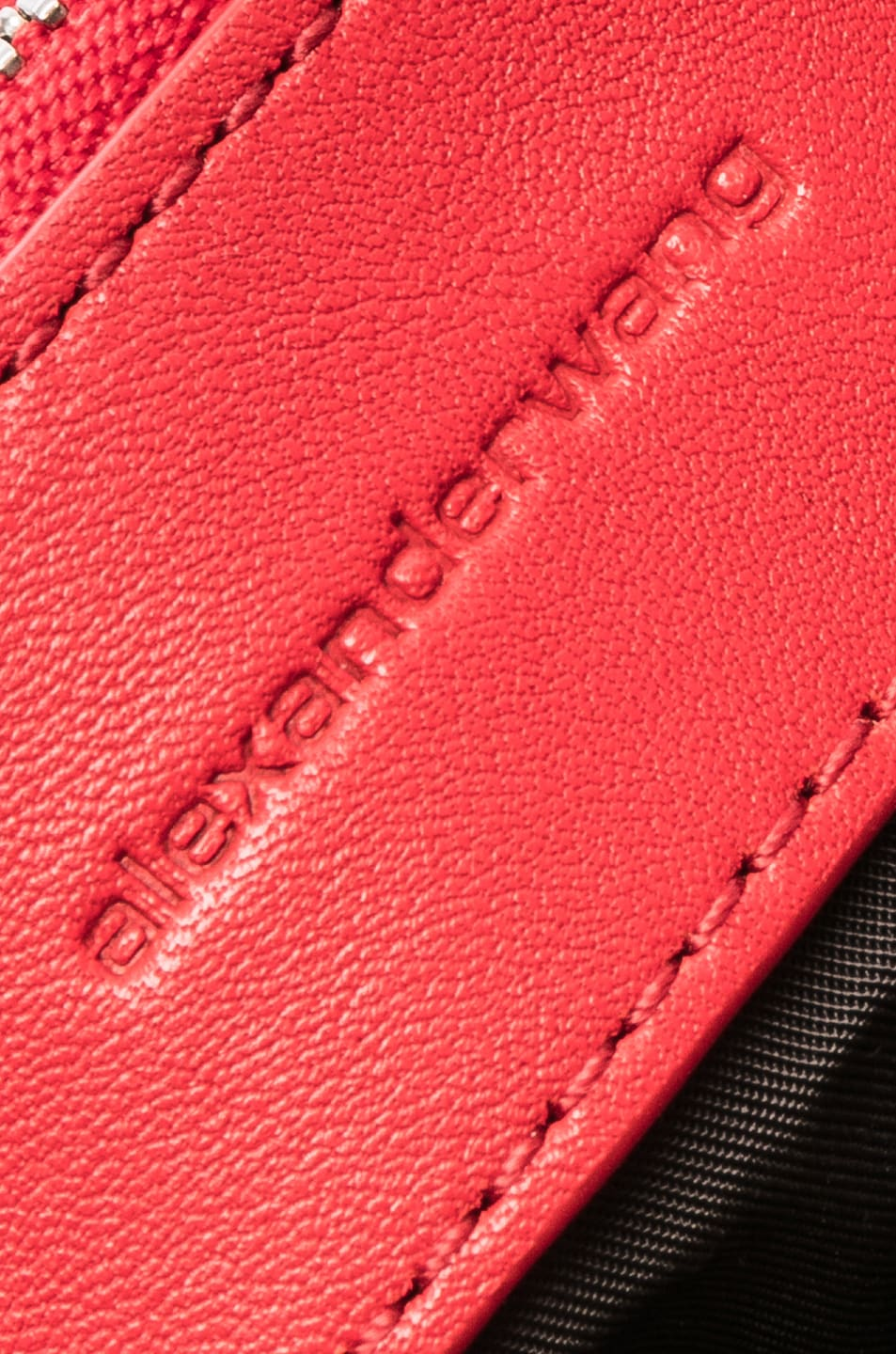 Image 7 of Alexander Wang Halo Quilted Bag in Red